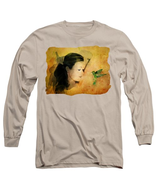 Close Encounter Long Sleeve T-Shirt by Terry Fleckney