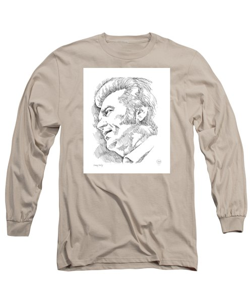 Conway Twitty Long Sleeve T-Shirt by Greg Joens