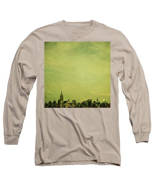 Escaping Urbania Long Sleeve T-Shirt by Andrew Paranavitana