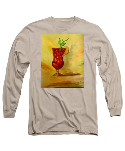 Eye Opener Long Sleeve T-Shirt by Jacquie King