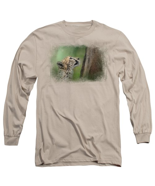 Facing Challenges Long Sleeve T-Shirt by Jai Johnson