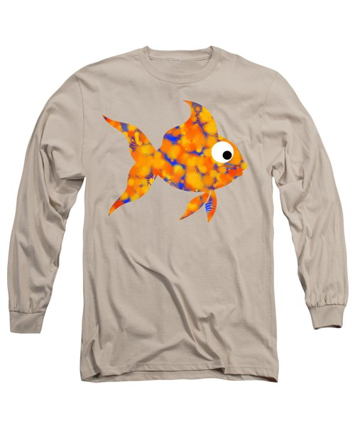 Fancy Goldfish Long Sleeve T-Shirt by Christina Rollo