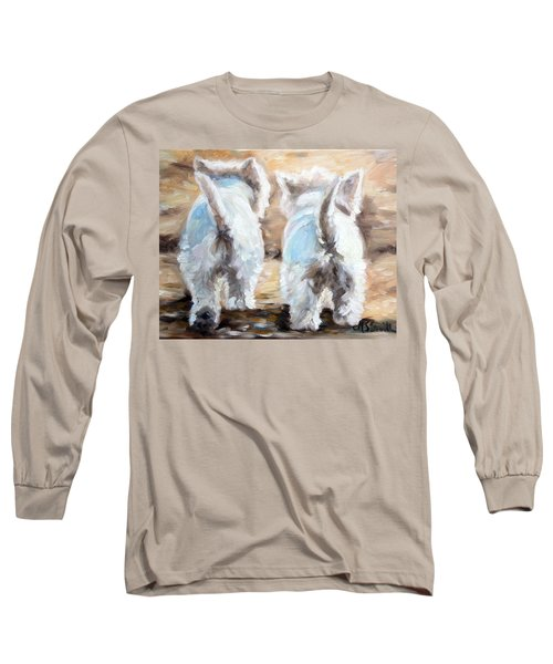 Farewell Long Sleeve T-Shirt by Mary Sparrow