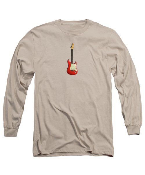 Fender Stratocaster 63 Long Sleeve T-Shirt by Mark Rogan