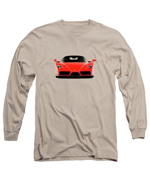 Ferrari Enzo Ferrari Long Sleeve T-Shirt by Mark Rogan