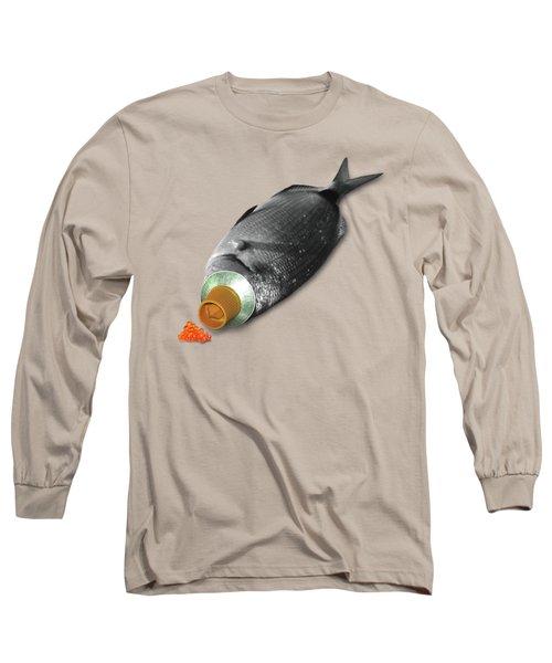 Fish Tube Long Sleeve T-Shirt by Ralph Klein