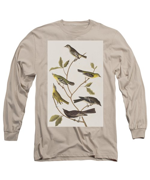 Fly Catchers Long Sleeve T-Shirt by John James Audubon