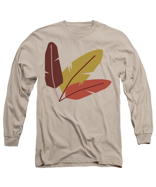 Forest Pattern Long Sleeve T-Shirt by Paulina Sliwa