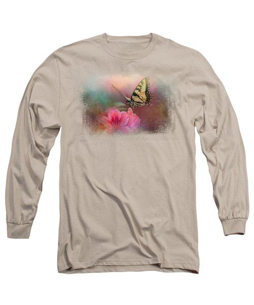 Garden Friend 2 Long Sleeve T-Shirt by Jai Johnson