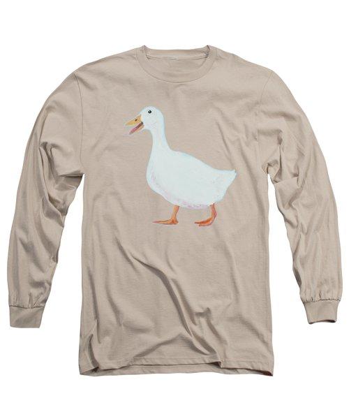 Goose Named Audrey Long Sleeve T-Shirt by Jan Matson