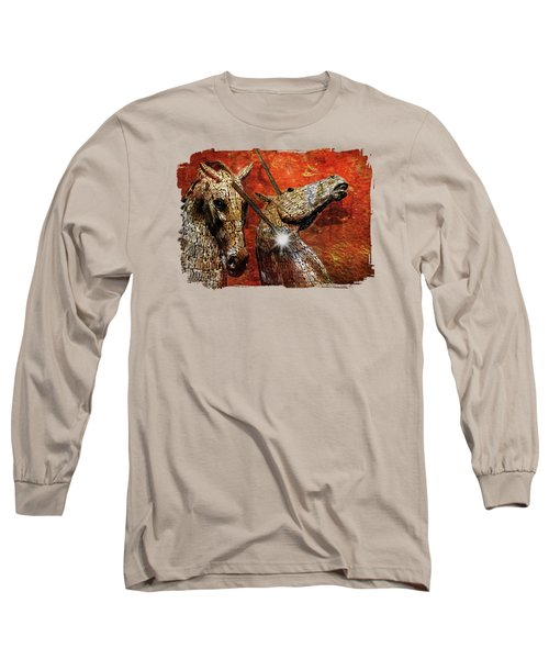 I Believe Long Sleeve T-Shirt by Terry Fleckney