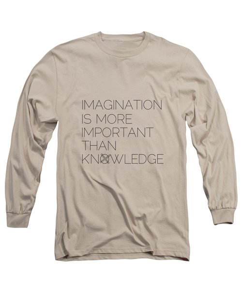 Imagination Long Sleeve T-Shirt by Melanie Viola