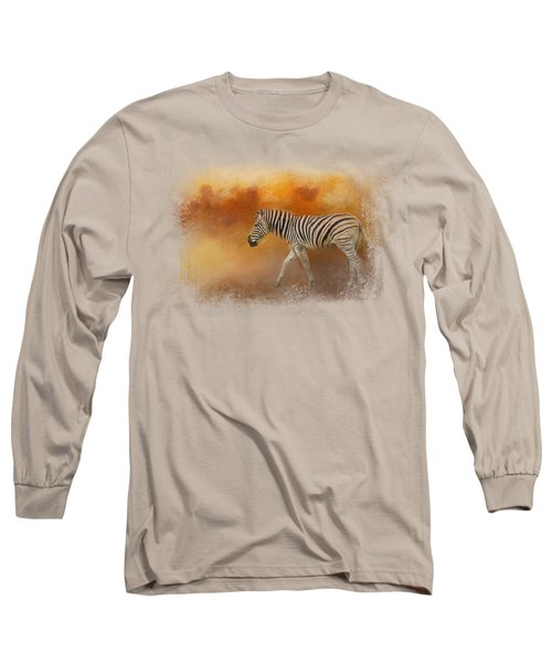 In The Heat Of Summer Long Sleeve T-Shirt by Jai Johnson