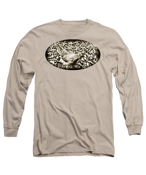 Intensive Poultry Long Sleeve T-Shirt by Anita Faye
