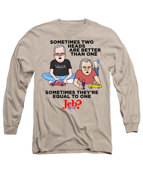 Jebbbers Long Sleeve T-Shirt by Sean Corcoran
