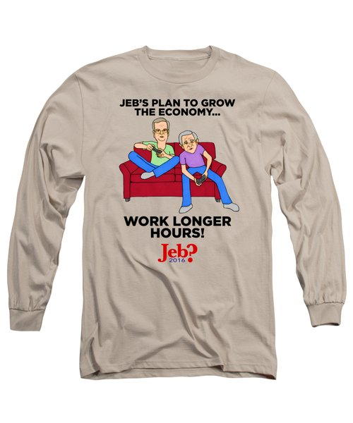 Jebbers Long Sleeve T-Shirt by Sean Corcoran