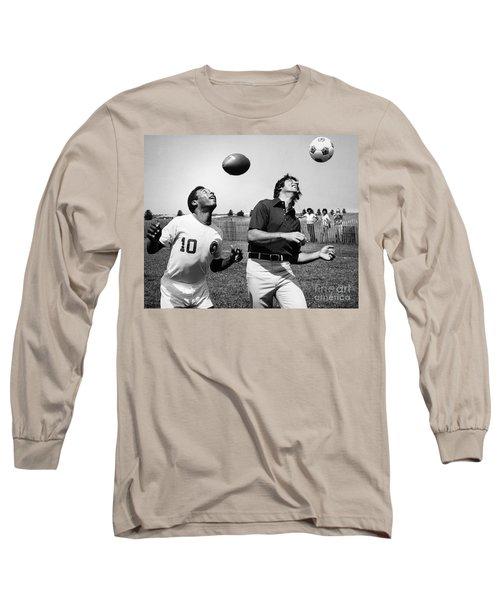 Joe Namath (1943- ) Long Sleeve T-Shirt by Granger
