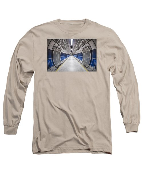 Journey To The Center Of Your Mind Long Sleeve T-Shirt by Evelina Kremsdorf
