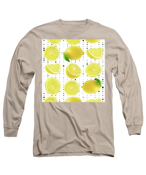 Lemon  Long Sleeve T-Shirt by Mark Ashkenazi