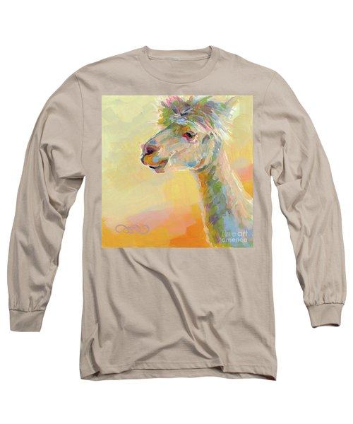 Lolly Llama Long Sleeve T-Shirt by Kimberly Santini