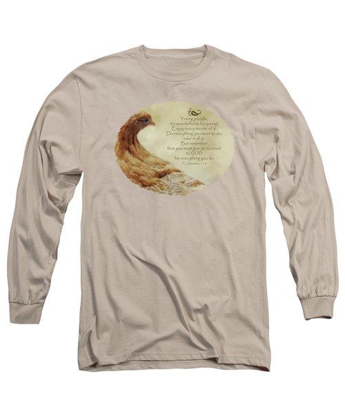 Lovely Lace - Verse Long Sleeve T-Shirt by Anita Faye