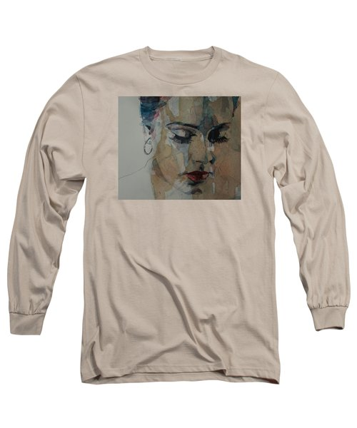 Make You Feel My Love Long Sleeve T-Shirt by Paul Lovering