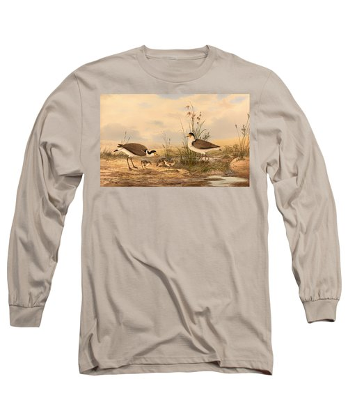 Masked Lapwing Long Sleeve T-Shirt by Mountain Dreams