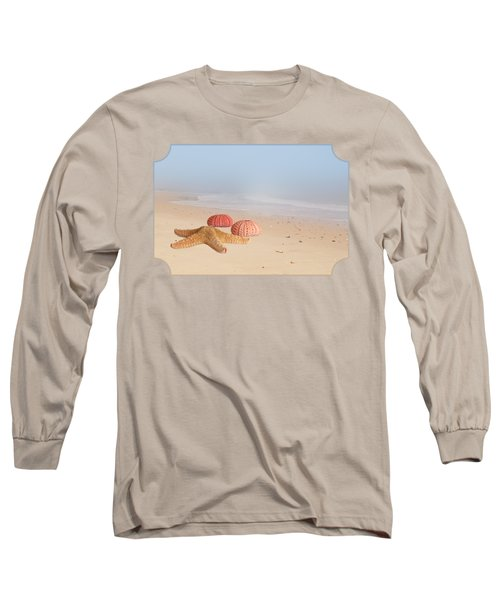 Memories Of Summer Long Sleeve T-Shirt by Gill Billington