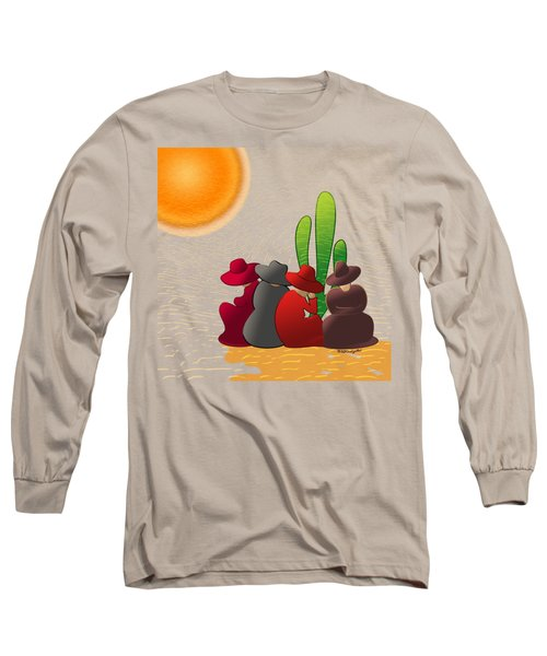 Midday Siesta Long Sleeve T-Shirt by Methune Hively