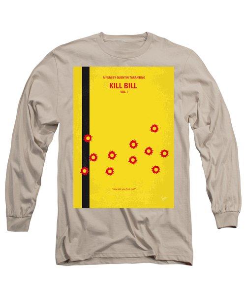 No048 My Kill Bill -part 1 Minimal Movie Poster Long Sleeve T-Shirt by Chungkong Art