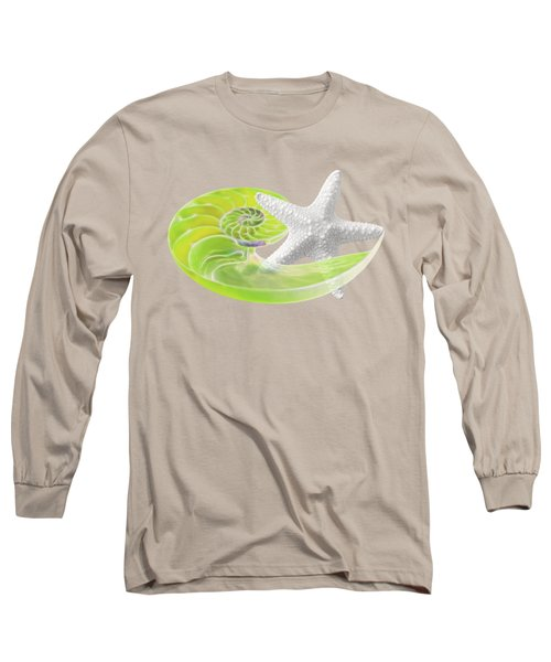 Ocean Fresh Long Sleeve T-Shirt by Gill Billington
