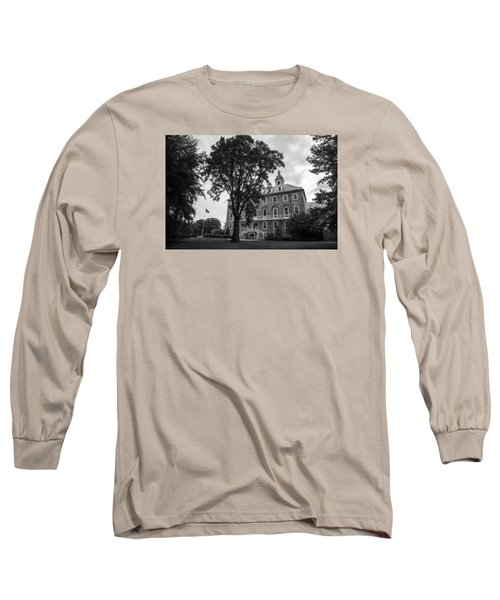 Old Main Penn State Long Sleeve T-Shirt by John McGraw