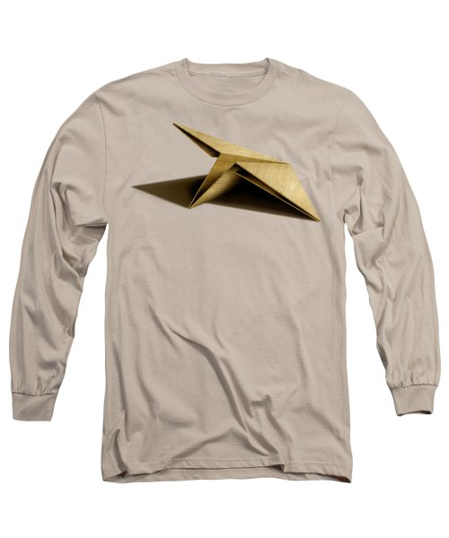 Paper Airplanes Of Wood 7 Long Sleeve T-Shirt by YoPedro