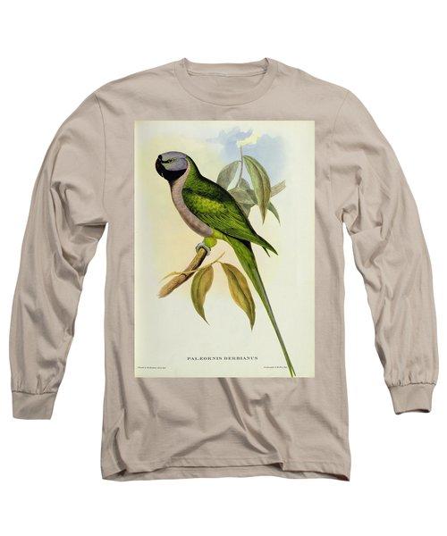 Parakeet Long Sleeve T-Shirt by John Gould