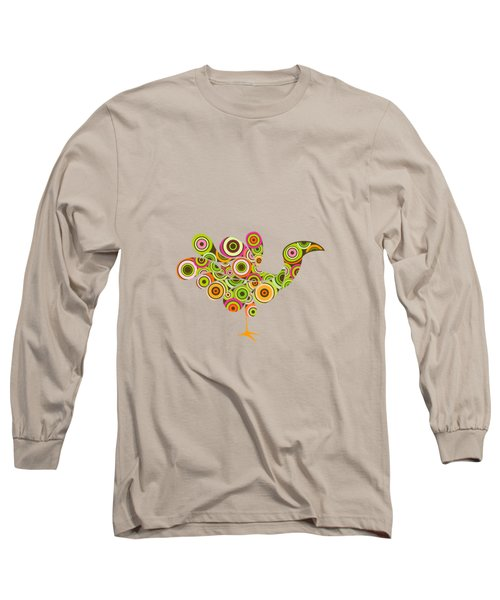 Peafowl Long Sleeve T-Shirt by BONB Creative