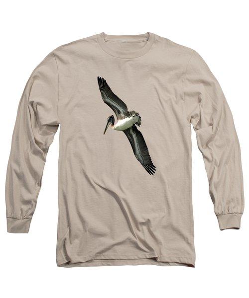 Pelican Long Sleeve T-Shirt by Deborah Good