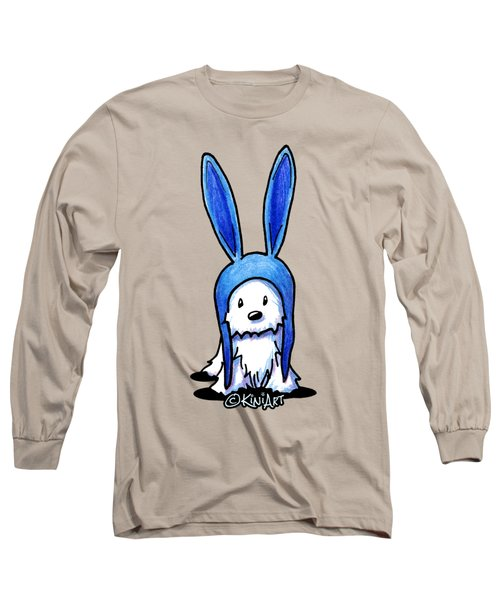 Rabbit Ears Westie Long Sleeve T-Shirt by Kim Niles