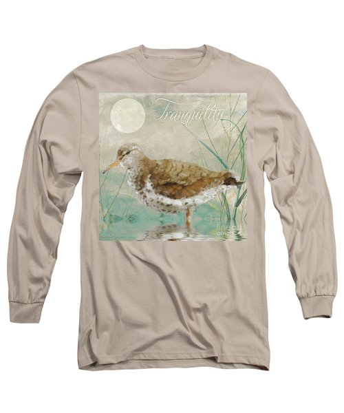 Sandpiper II Long Sleeve T-Shirt by Mindy Sommers