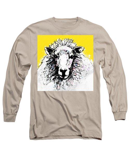 Sheep Long Sleeve T-Shirt by Tiffany Hunter