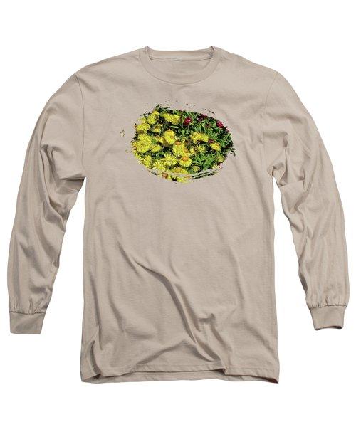 Smiling Daisies Long Sleeve T-Shirt by Thom Zehrfeld