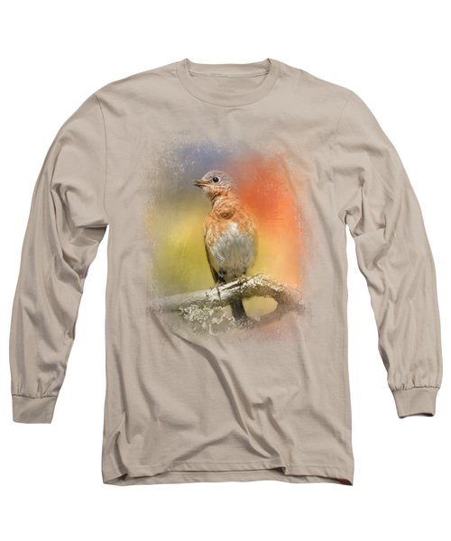 Spring Song Long Sleeve T-Shirt by Jai Johnson