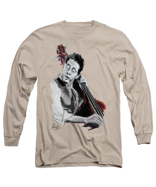 Stanley Clarke Long Sleeve T-Shirt by Melanie D