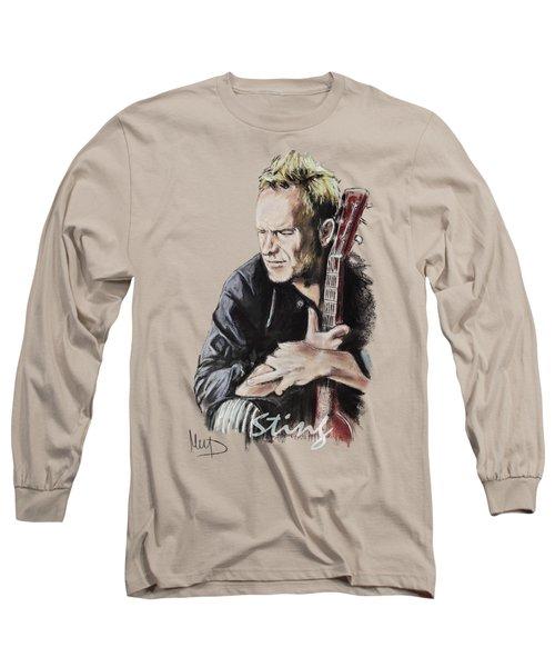 Sting Long Sleeve T-Shirt by Melanie D
