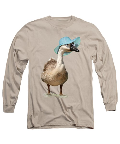 Summer Goose Long Sleeve T-Shirt by Gravityx9  Designs
