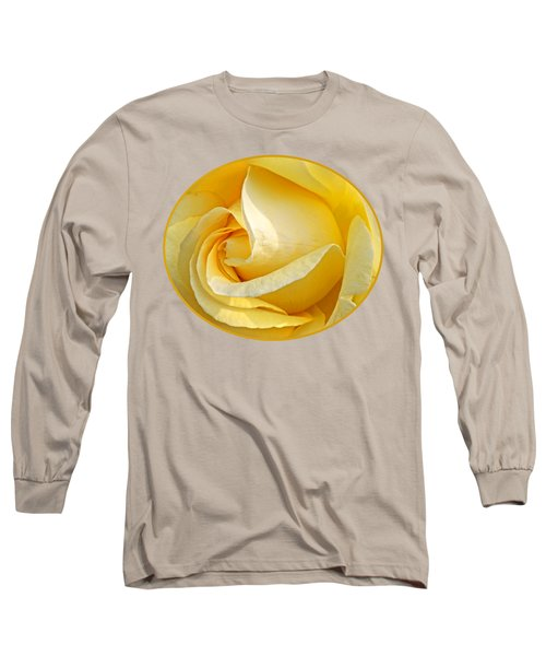Sunshine Rose Long Sleeve T-Shirt by Gill Billington