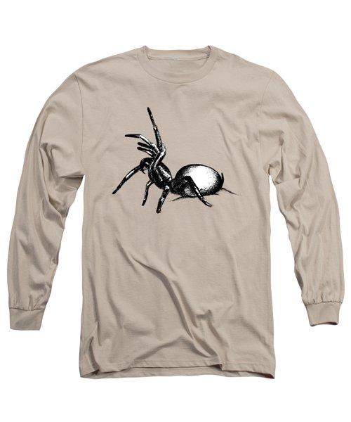 Sydney Funnel Web Long Sleeve T-Shirt by Nicholas Ely