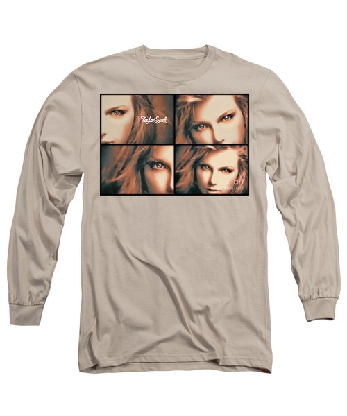 Taylor Swift - Parallels Long Sleeve T-Shirt by Robert Radmore