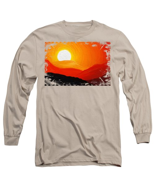 The Painted Desert Signature Series Long Sleeve T-Shirt by Di Designs