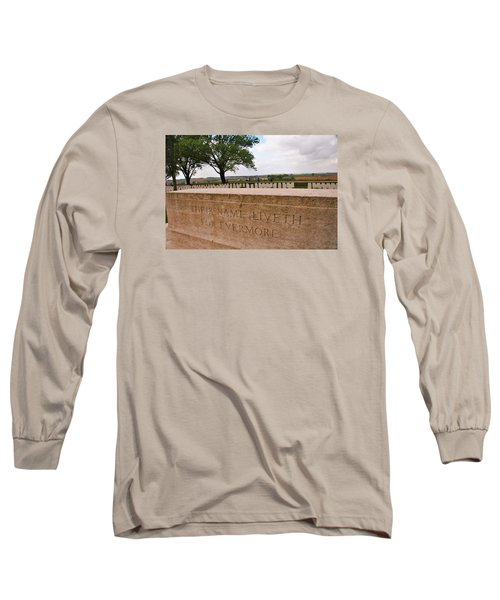 Long Sleeve T-Shirt featuring the photograph Their Name Liveth For Evermore by Travel Pics