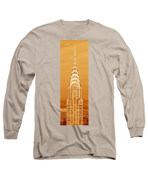 This Is A Sepiatone Close Long Sleeve T-Shirt by Panoramic Images